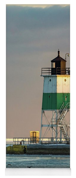 Lighthouse In The Sunset Yoga Mat
