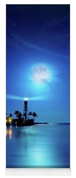 Lighthouse Moon Yoga Mat