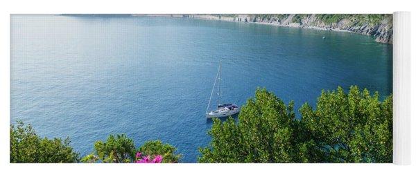 Ligurian Sea, Italy Yoga Mat