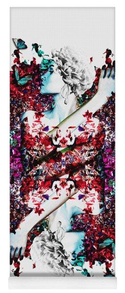 Like Flowering Flowers Yoga Mat