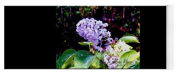 Lilacs Yoga Mat