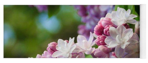 Lilacs Of Spring Yoga Mat