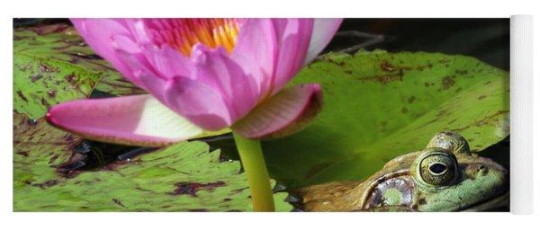 Lily And The Bullfrog Yoga Mat