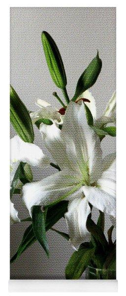 Lily Flower Yoga Mat