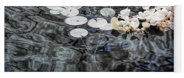 Lily Pads In Infrared Yoga Mat