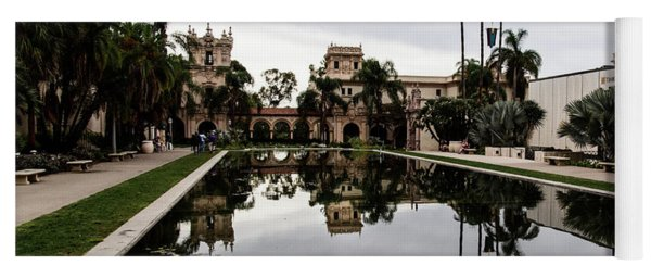 Lily Pond At Balboa Park Yoga Mat