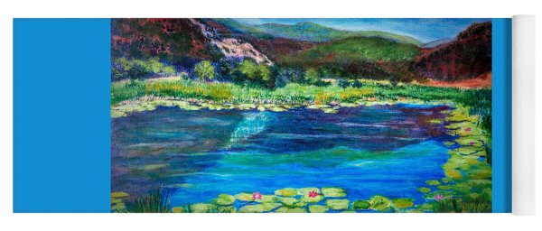 Lily Pond Colorado Yoga Mat