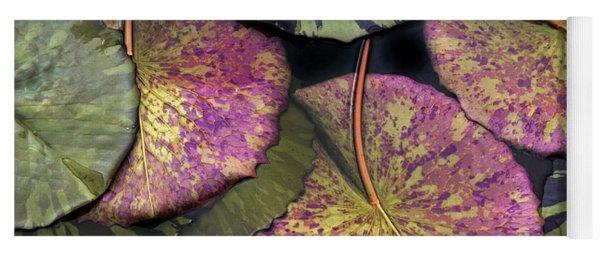 Lily Pond Jewels Yoga Mat