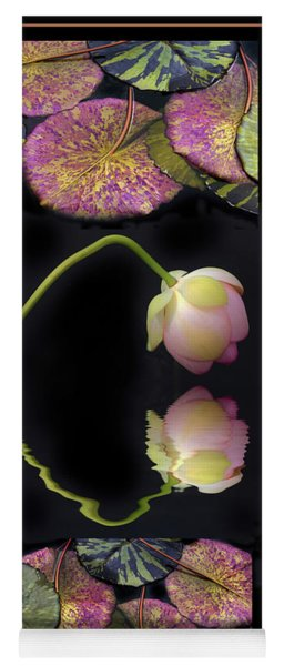 Yoga Mat featuring the photograph Lily Pond Tapestry by Jessica Jenney