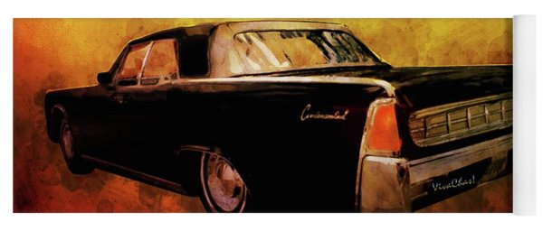 Lincoln Continental Shrine To Understated Good Looks Yoga Mat