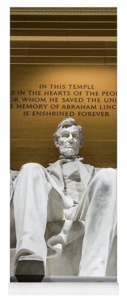 Lincoln Memorial 2 Yoga Mat