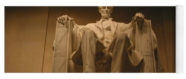 Lincoln Memorial Yoga Mat