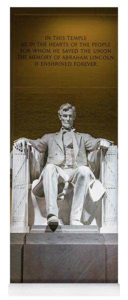 Lincoln Memorial Yoga Mat
