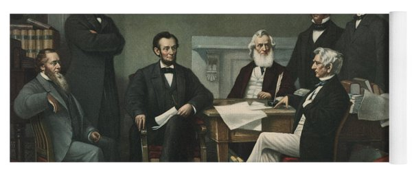 Lincoln's Cabinet Yoga Mat