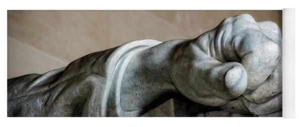 Lincoln's Left Hand Yoga Mat