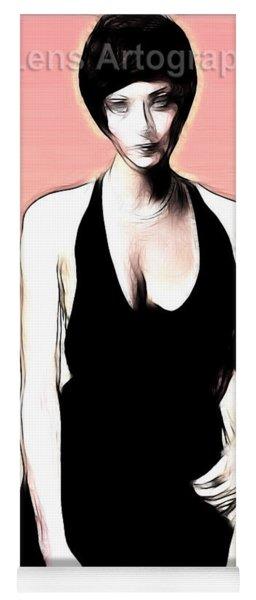 Linda Thorson Yoga Mat