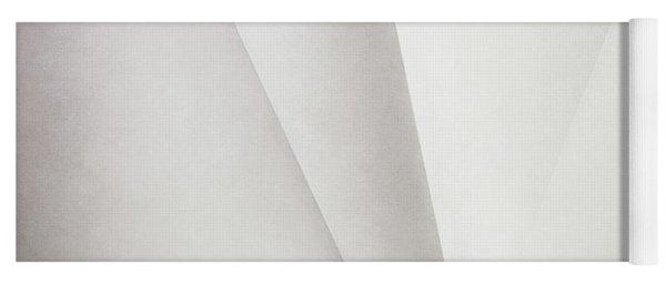 Lines On Paper Yoga Mat