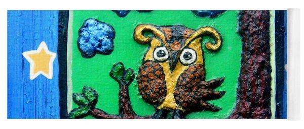Lint Owl Yoga Mat