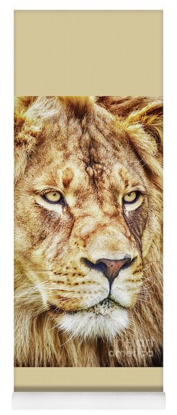 Lion Is The King Of The Jungle Yoga Mat