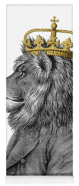 Lion The King Of The Jungle Yoga Mat