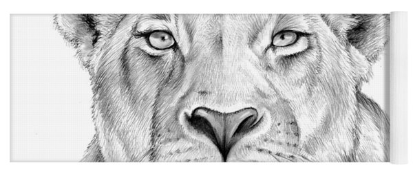Lioness Yoga Mat