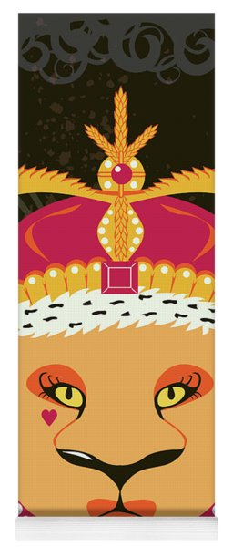 Lioness Queen Yoga Mat