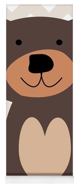 Little Bear Nursery Art Yoga Mat