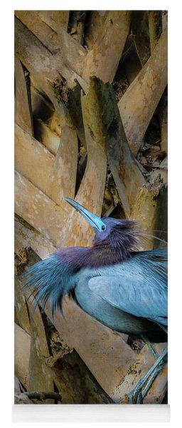 Little Blue Heron Yoga Mat