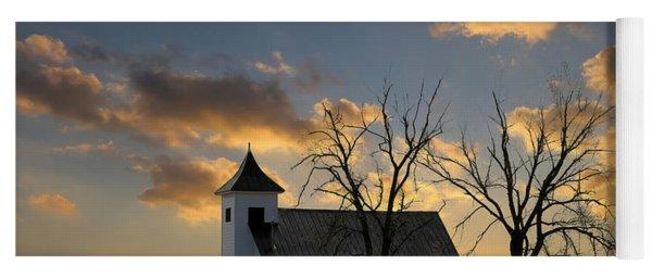 Little Church On The Prairie Yoga Mat