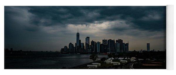 Little Manhattan Under A Cloud Yoga Mat