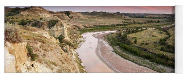 Little Missouri River Yoga Mat