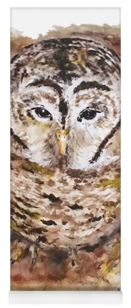 Little Owl Yoga Mat