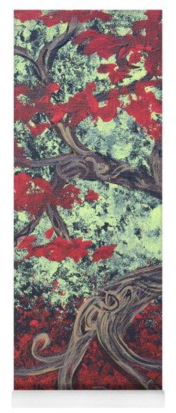 Little Red Tree Series 3 Yoga Mat