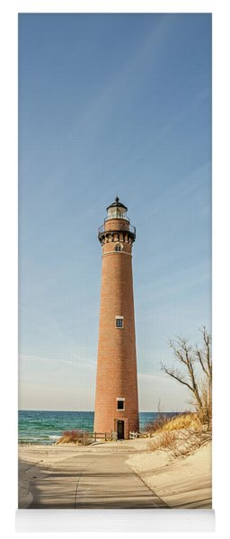 Little Sable Point Lighthouse Yoga Mat