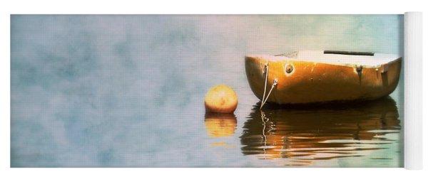 Little Yellow Boat Yoga Mat