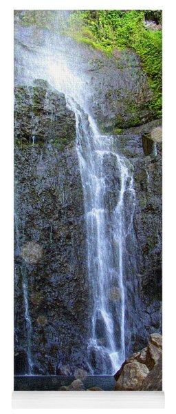 Living Waters - Wailua Falls Maui Yoga Mat