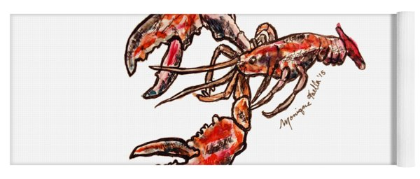 Lobster Yoga Mat