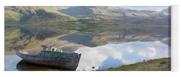 Loch Beg Reflects Yoga Mat