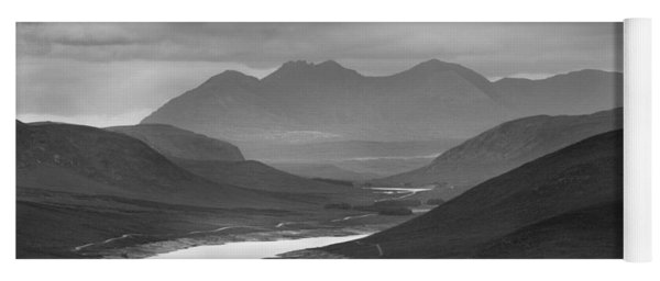 Loch Glascarnoch And An Teallach Yoga Mat