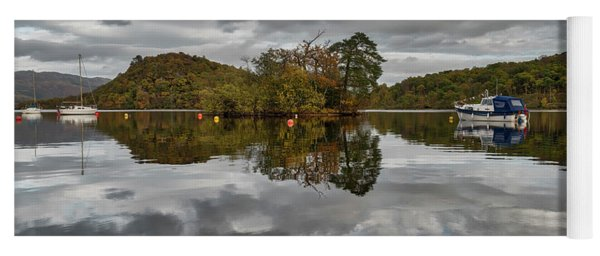 Loch Lomond At Aldochlay Yoga Mat