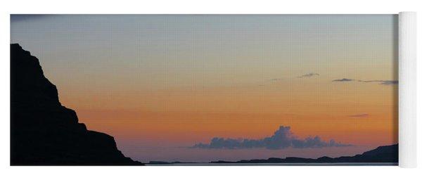 Loch Na Keal Sunset Yoga Mat