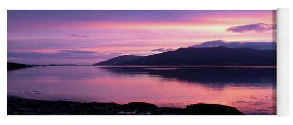 Loch Scridain Sunset Yoga Mat