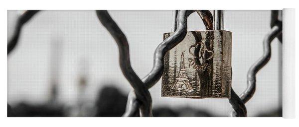 Locked In Paris Yoga Mat