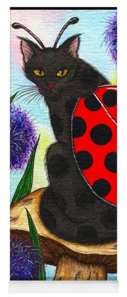 Logan Ladybug Fairy Cat Yoga Mat