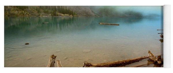 Logs And Boulders Moraine Lake Banff II Yoga Mat
