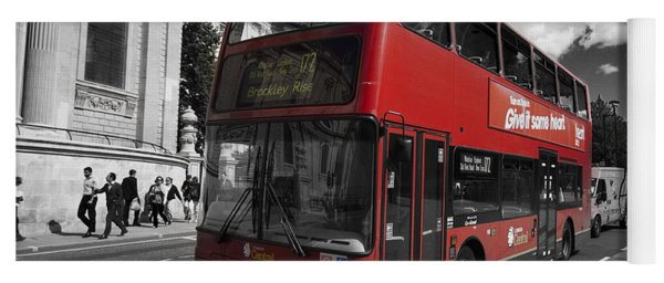 London Bus Yoga Mat