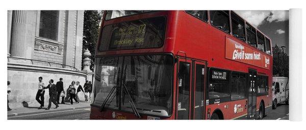 London Bus Yoga Mat