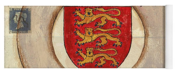 London Coat Of Arms Yoga Mat