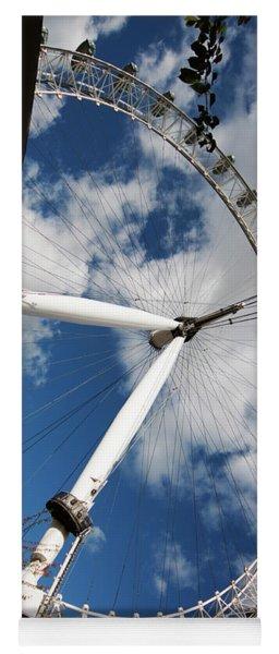 London Ferris Wheel Yoga Mat