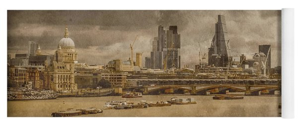 London, England - London Skyline East Yoga Mat